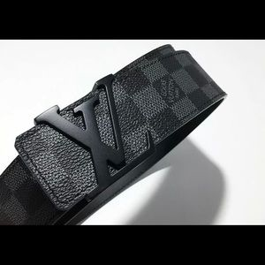 Brand New Louis Vuitton Men's Belt Black 40|100